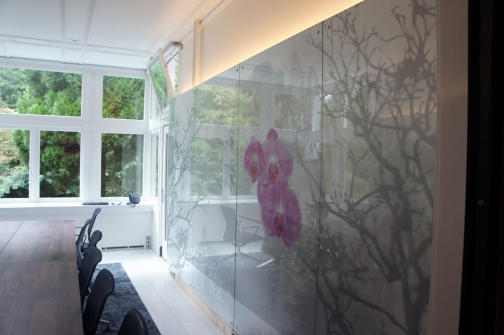 Wanddecoratie Op Glas.Diverse Glasprojecten